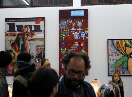 Intérieur Rue @ Galerie Wallworks: les photos | Rap , RNB , culture urbaine et buzz | Scoop.it