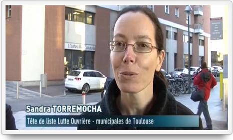 Interview de Sandra Torremocha - [Portail de Lutte Ouvrière] | Toulouse La Ville Rose | Scoop.it