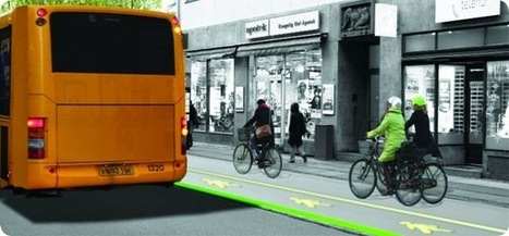Copenhagen's New LED Bus Stops | Digital Sustainability | Scoop.it