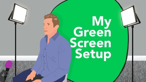 My Green Screen Setup   Classroom Technology Integration and Project Based Learning   Scoop.it