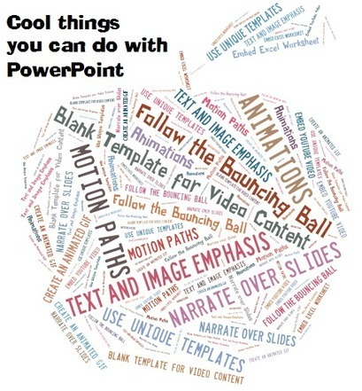 10 Pretty Awesome Things You Can do With PowerPoint | Emerging EdTech | 21st Century Teaching and Learning Resources | Scoop.it