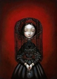 French Artist Benjamin Lacombe's Haunting Illustrations for Poe's Tales of the Macabre | Edgar Allan Poe | Scoop.it