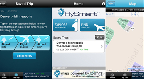 Clear Channel Airports plots its mobile strategy with the FlySmart app | Hospitality reputation | Scoop.it