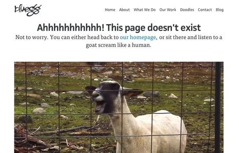 4 Ways to Delight Visitors With Your 404 Error Page | Social Media, SEO, Mobile, Digital Marketing | Scoop.it