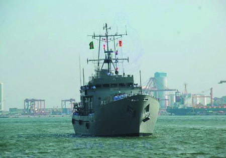 Bangladesh Naval Ship Arrives at Port of Colombo >> Naval Today | Memory and museums | Scoop.it