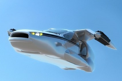 Take To The Skies In The Autonomous Hybrid Terrafugia Flying Car - Gas 2 | Heron | Scoop.it