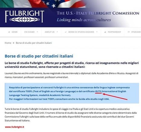 Cerchi una borsa di studio in #USA? Informati sul programma #Fulbright. #IELTS è... | British Council Italia | Scoop.it