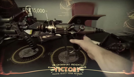 Magic Leap's Augmented Reality FPS Demo Is Unbelievable - CINEMABLEND   COMPUTATIONAL THINKING and CYBERLEARNING   Scoop.it
