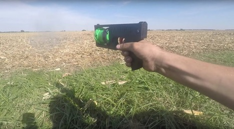 The World's First Fully 3D Printed Revolver is Here | 3D Virtual-Real Worlds: Ed Tech | Scoop.it