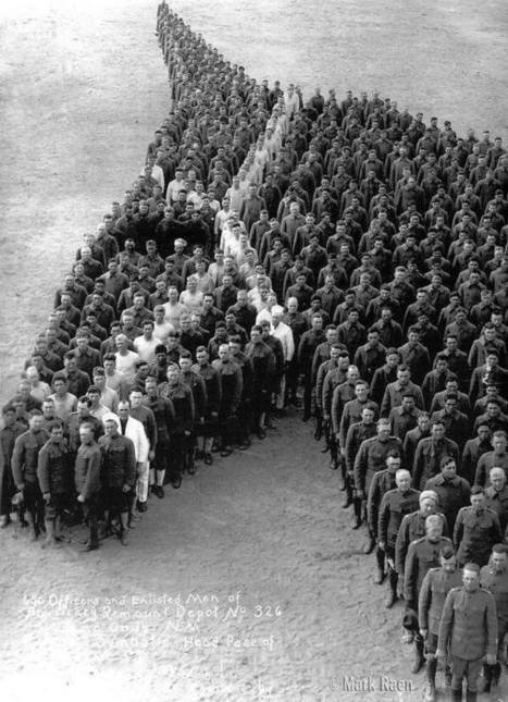 650 officers and enlisted men of a Cavalry unit... | Bests from #AdlandPro | Scoop.it