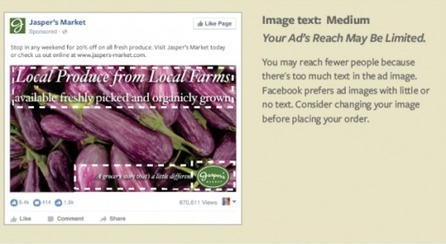Facebook's Changed The 20% Ad Image Text Overlay Rule | MarketingHits | Scoop.it