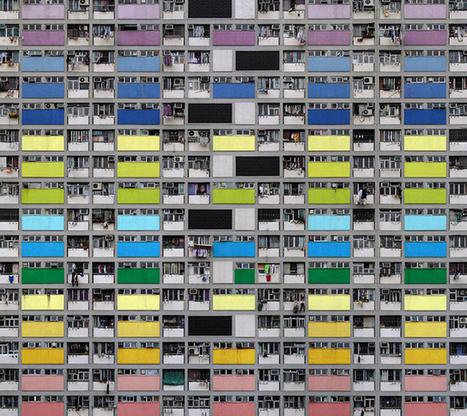 Photo : Michael Wolf et sa série Architecture of Density | Participation culturelle | Scoop.it