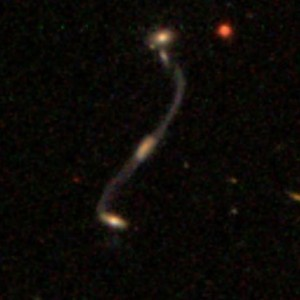 """Update on the """"Violin Clef"""" merger: redshifts and Merger Zoo 