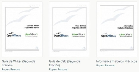 Manuales gratuitos sobre LibreOffice y OpenOffice | COMPETIC | Scoop.it