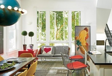Scout Style:  A Treasure-Filled Home in Lincoln Park   Chicago Magazine | Design | Scoop.it