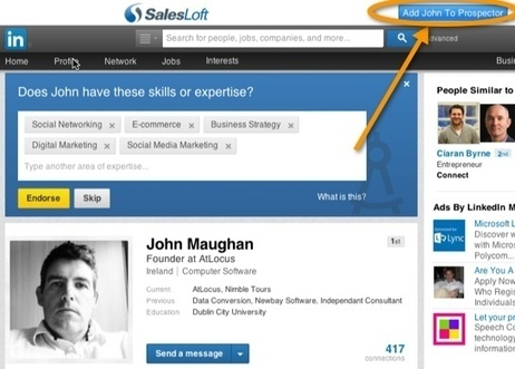 LinkedIn Tutorial: 4 LinkedIn Tools to Help Generate Sales | Public Relations & Social Media Insight | Scoop.it