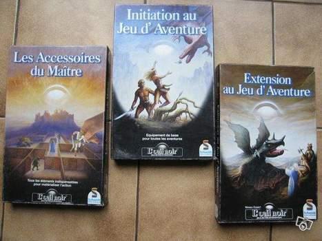 Jeux de rôle | Jeux de rôle L'oeil Noir - Les 3 coffrets de jeux | Jeux de Rôle | Scoop.it