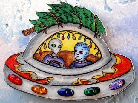 Can ET And Christmas Co-exist? - NPR | Non-Terrestrial Life | Scoop.it