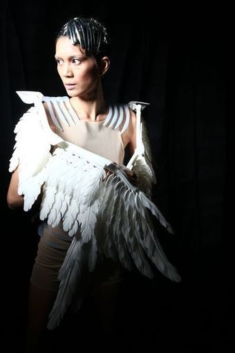 The First 3D Printed Fashion Show inAsia - Fabbaloo Blog - Fabbaloo - Daily News on 3D Printing | Asian Beautiful Girl | Scoop.it
