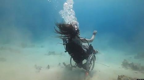 Sue Austin, la mujer que bucea en silla de ruedas | EmprendeMooc | Scoop.it