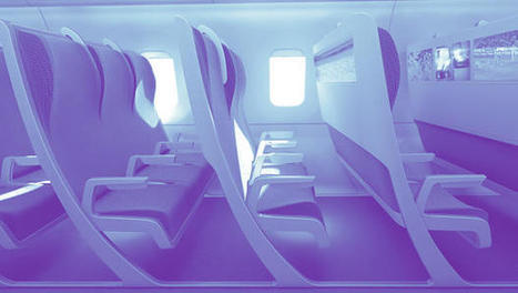 This Airplane Seat Shapeshifts To Your Body | A visionary approach | Scoop.it