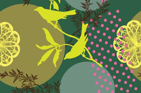 Free Vector , Vintage Design Illustrator Patterns | vector background | Scoop.it