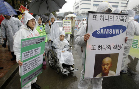 Samsung apologizes to sickened chip workers | Making Money Online:  Tips & Pointers | Scoop.it