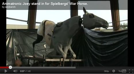 "Inside the Animatronic ""War Horse"" Used in Grisly Trench Scenes 