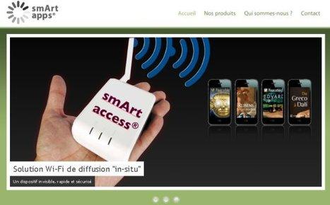 Nouveaux projets d'applications mobiles pour smArtapps :: Club Innovation & Culture CLIC France | Nouveautés Web, apps et musées | Scoop.it