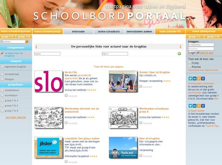 Schoolbordportaal.nl: Actueel naar de brugklas | Educatief Internet - Gespot op 't Web | Scoop.it