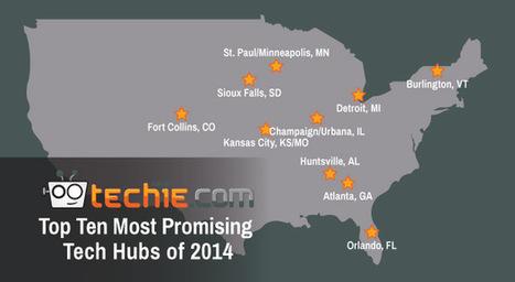 Ten Emerging Tech Cities - Techie   Georgia Broadband   Scoop.it