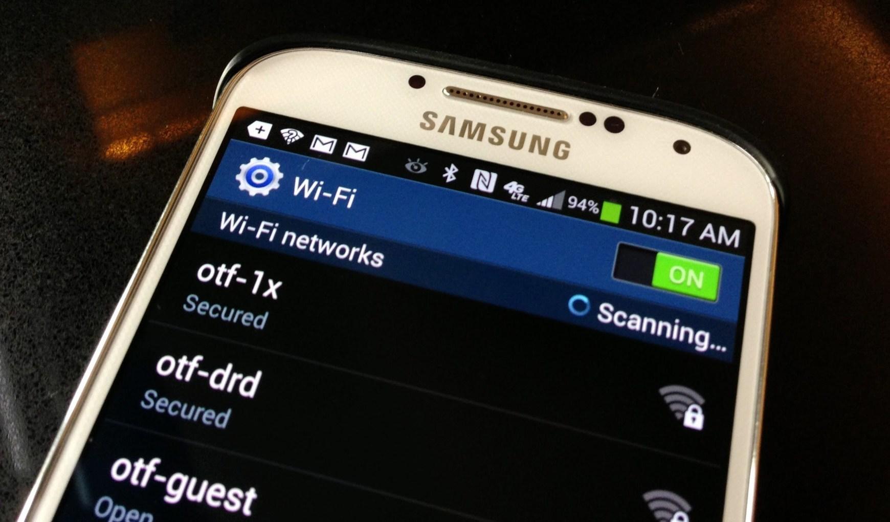 Как сделать интернет на телефоне если вай фай не работает