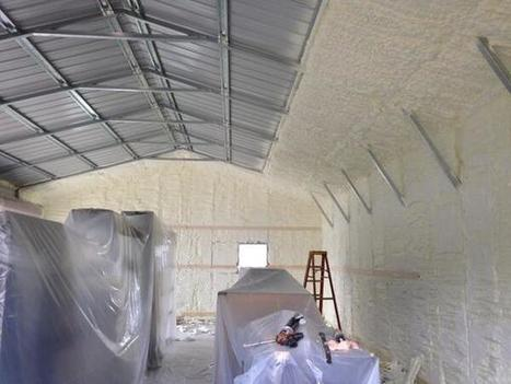 Twitter / GoFoam: Check out this metal building ... | Icynene spray foam uk | Scoop.it