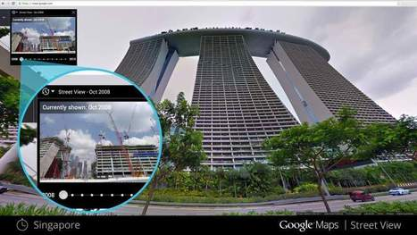 Google Street View propose une «machine à remonter dans le temps numérique» | Mobile, Web et autres friandises | Scoop.it