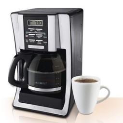 Mr. Coffee BVMC-SJX33GT 12-Cup Programmable Coffeemaker | My Stages | Scoop.it