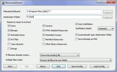 Extraire les ressources cachées dans les fichiers Windows | Le Newbie | Orangeade | Scoop.it