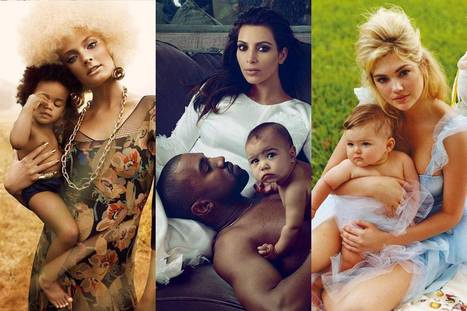 A Brief History of Naked Babies in Fashion Magazines - New York Magazine | beauty | Scoop.it