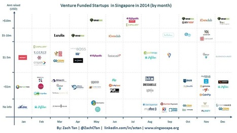 A quick glance at Singapore's funding scene in 4 charts | allthingstartup | Scoop.it