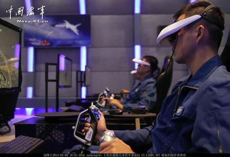 Virtual Reality Is Not Just For Facebook: Chinese Military Pilots Train In 3D | Post-Sapiens, les êtres technologiques | Scoop.it