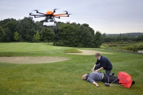 This Drone Could Save Heart-Attack Victims' Lives [VIDEO] | Page One SEO | Scoop.it