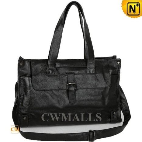 CWMALLS® Mens Leather Briefcase Tote Bags CW915137   Mens Business Bags   Scoop.it