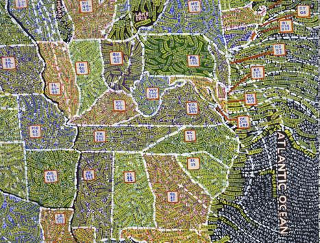Detailed US Maps Elevate Data Viz to Fine Art | Fantastic Maps | Scoop.it