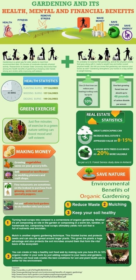 Gardening and its Health, Mental and Financial Benefits | Gardening Life | Scoop.it