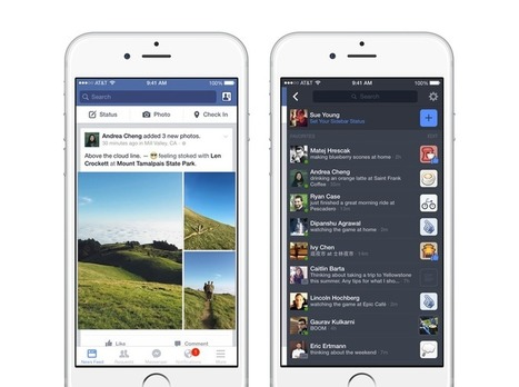 Facebook mobile teste une barre de notification dédiée aux messages de statuts - #Arobasenet.com | Référencement internet | Scoop.it