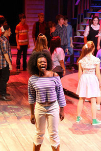 "Theatre Lawrence opens season with energetic ""Footloose--The Musical"" - examiner.com 