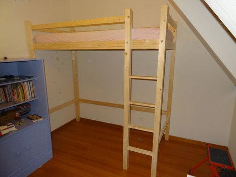 [Coup de ♥] Création d'un lit mezzanine par delajungle sur le #CDB | Best of coin des bricoleurs | Scoop.it
