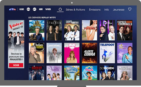 TF1 s'inspire de Netflix pour refondre MyTf1 | NewTech & Digital Strategy | Scoop.it