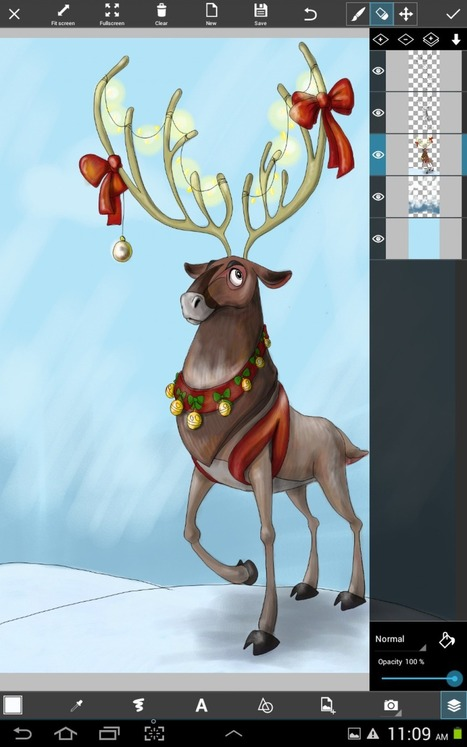 How to Draw Santa's Reindeer | logotexnia | Scoop.it
