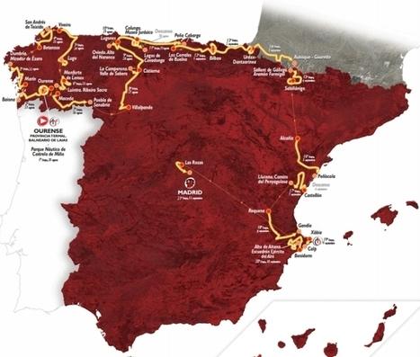 Vuelta 2016: The Route | Giro d'Italia | Scoop.it