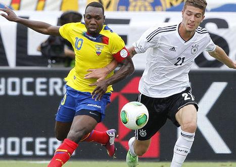 Inglaterra empato con irlanda y Ecuador cayó ante la suplente de Alemania | fútbol Total | Scoop.it